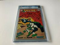SPECTRE 2 CGC 9.0 NEAL ADAMS COVER ART INTERVIEW DC COMICS 1968