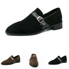 Retro Mens Low Top Leisure Faux Leather Shoes Pointy Toe Oxfords Slip on Party L
