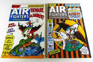 Eclipse AIR FIGHTERS CLASSICS (1987) #3-4 Lot FN (6.0) to VF (8.0) Ships FREE!