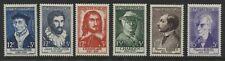 France Semi-Postals 12 + 3 to 15 + 5 francs mint o.g.