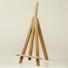 Mini Staffelei Menükartenhalter Tischstaffelei 25 cm aus unbehandeltem Holz