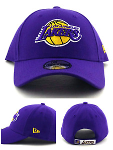 Los Angeles Lakers New Era 9Forty LA Youth Kids The League Purple Gold Hat Cap
