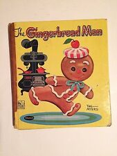 The Gingerbread Man 1959 Jack and Louise Myers Whitman Publishing Story Hour