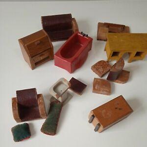Dolls House Vintage Bundle including Kleeware and Kensalcraft spares repairs