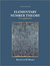 Elementary Number Theory 6th Int'l Edition