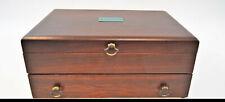 New listing Reed & Barton Provincial Silverware Flatware Storage Chest Wood Case Box (0339)