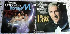 BONEY M - Rivers of Babylon + BRUCE LOW - Die Legende von Babylon * 2 TOP Single