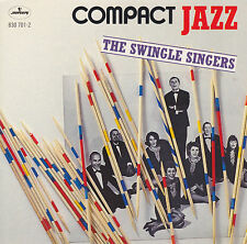 THE SWINGLE SINGERS - COMPACT JAZZ  Mercury ‎830 701-2,  CD, wie neu