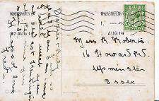 Genealogy Postcard - Family History - Roberts - Upminster - Essex 2856
