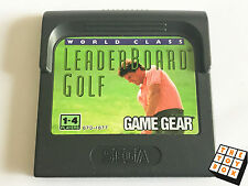 Sega GameGear Vintage Video Game Leaderboard Golf