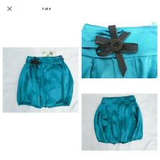 River Island Ladies Turquoise Blue Party Skirt Size 6 New RRP £32