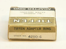 Tiffen 42mm (1 21/32 inch) Slip-on Filter Adapter Ring with Retaining Ring