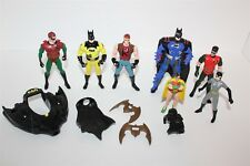 "Batman Action Figure Bulk Lot 4"" Dc Comics Kenner 1990's"
