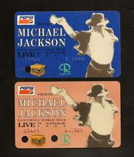 1993 Michael Jackson Dangerous World Tour THAILAND Concert Ticket Card MEGA RARE