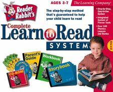 The Learning Company Reader Rabbit's Complete Learn to Read System Ages 3-7 Tlc
