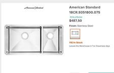 American Standard 18CR.9351800.075 PEKOE Stainless Steel Sink