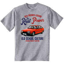 VINTAGE FRENCH CAR CITROEN GSA - NEW COTTON T-SHIRT