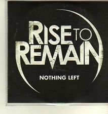 (CW397) Rise to Remain, Nothing Left - 2011 DJ CD