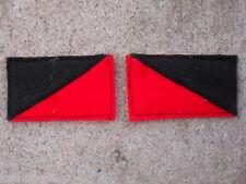 7th Australian light horse colour patch  match pair L.R