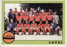 N°317 EQUIPE TEAM LAVAL LAVALLOIS VIGNETTE PANINI FOOTBALL 94 STICKER 1994
