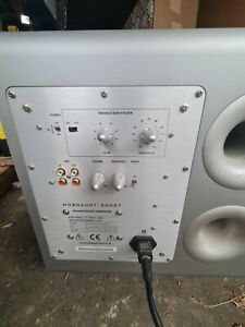 Mordaunt-Short MS409W Digital SubWoofer Speaker 200 Watts 10""