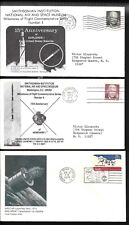 US 3 Space Covers Vanguard Explorer Westar Launch 1973-74 Smithsonian   |