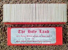 VINTAGE The Holy Land 100 Color Slides Printed On Kodak Film In Case Box MINT.!!