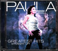 PAULA ABDUL, Greatest Hits - Straight Up! CD, R&B/POP/DANCE, BABYFACE, EX+