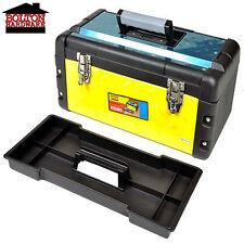 "Tool Box 19"" Inch Chest Toolbox Utility Storage Organizer New"