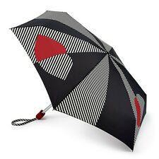 Lulu Guinness Por Fulton Damas Pequeño - 2 paraguas Half & Half Labio