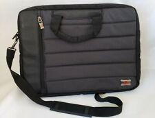 Swiss Gear Wenger Black Padded Laptop Travel Messenger Bag Briefcase