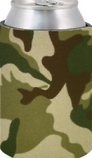 Wholesale Lot of 500 Blank Woodland Camo Can Coolers Beverage Insulators