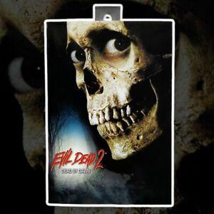 Evil Dead 2 Action Figure Ultimate Ash Originale Neca 18 Cm