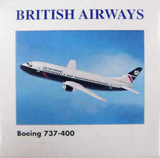 Boeing 737-400 British Airways Herpa 501248 1:500
