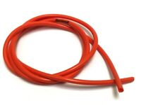 Petrol Strimmer Fuel Pipe Hose Tube NITRILE INFUSED 2mm x 4mm x 500mm RED
