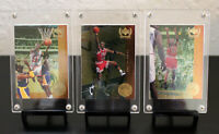 "1999 Upper Deck Century Legends Michael Jordan ""Most Memorable Shots"" Inserts."