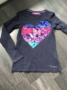 T Shirt manches longues / Marque Desigual / Taille 9-10 Ans