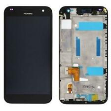 LCD DISPLAY + TOUCH + FRAME PER HUAWEI ASCEND G7 NERO touchscreen vetro