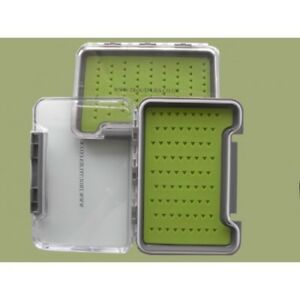 Silicone Insert Fly Fishing Box, very slim, 2 sizes,lovely fly fishing gift