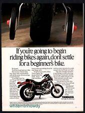 1987 YAMAHA Virago 535 Vintage  Motorcycle Photo AD