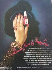 1945 Peggy Sage Hand Victorian Rose Fingernail Nail Polish Original Beauty Ad