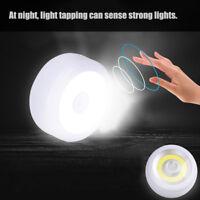 Super Bright Round COB LED Motion Sensor Light Camping Tent Lamp w/Hook & Magnet