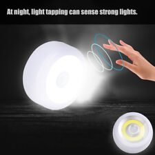 Super Bright Round COB LED Motion Sensor Light Camping Tent Lamp w/Hook & Magnet