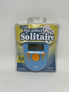 Pocket Pyramid Solitaire Radica Hand Held Electronic Game New in Package - 2005