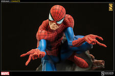 SIDESHOW MARVEL SPIDER-MAN J. SCOTT CAMPBELL COMIQUETTE STATUE EXCLUSIVE ~NEW~