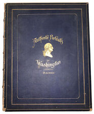 1 of 6, 1893, Authentic Portraits Of Washington, Sachse, Robert Sayre, Signed