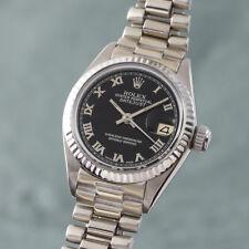 Rolex Lady Datejust 18k Weissgold Automatik Damenuhr 6917 VP: 26600,- Euro