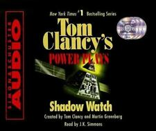 Tom Clancy Power Plays Shadow Watch (1999, CD, Abridged)