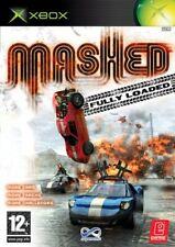 Mashed Fully Loaded (Xbox) PAL Disc Mint Retro Rare ~Fast & Free Postage~ NJ1
