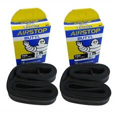 2x Michelin bicicleta de carretera Airstop Cámara aire 40mm válvula Presta 700